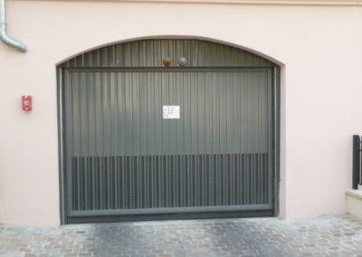 Ventilation sur portes automatiques collectives
