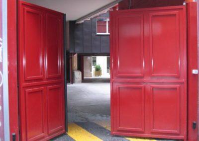 2 vantaux Portails battants rouge 1271171439