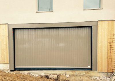 chantier porte automatique de garage collectives St Geneviève des bois