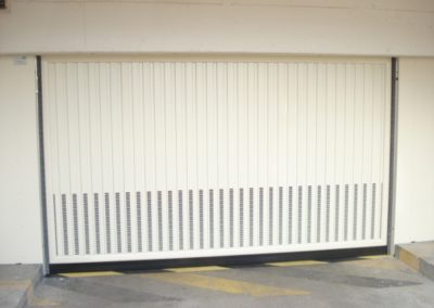 baradage de portes automatiques de garage collectives ventilation basse