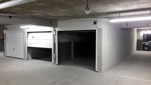 box standard manuel et portes sectionnelles