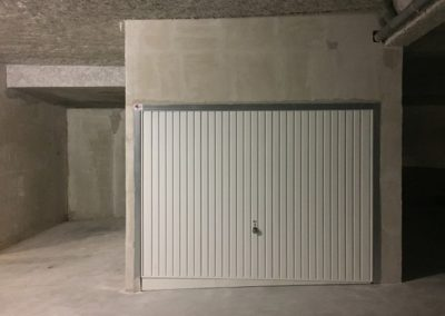 Chantier Porte de box standard