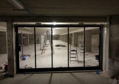 Chantilly Ventilation totlale d'une portes automatiques collectives chantilly